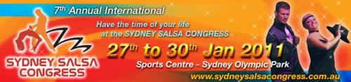 Sydney Salsa Congress • Adelaide's Salsa Connection Dance Studio